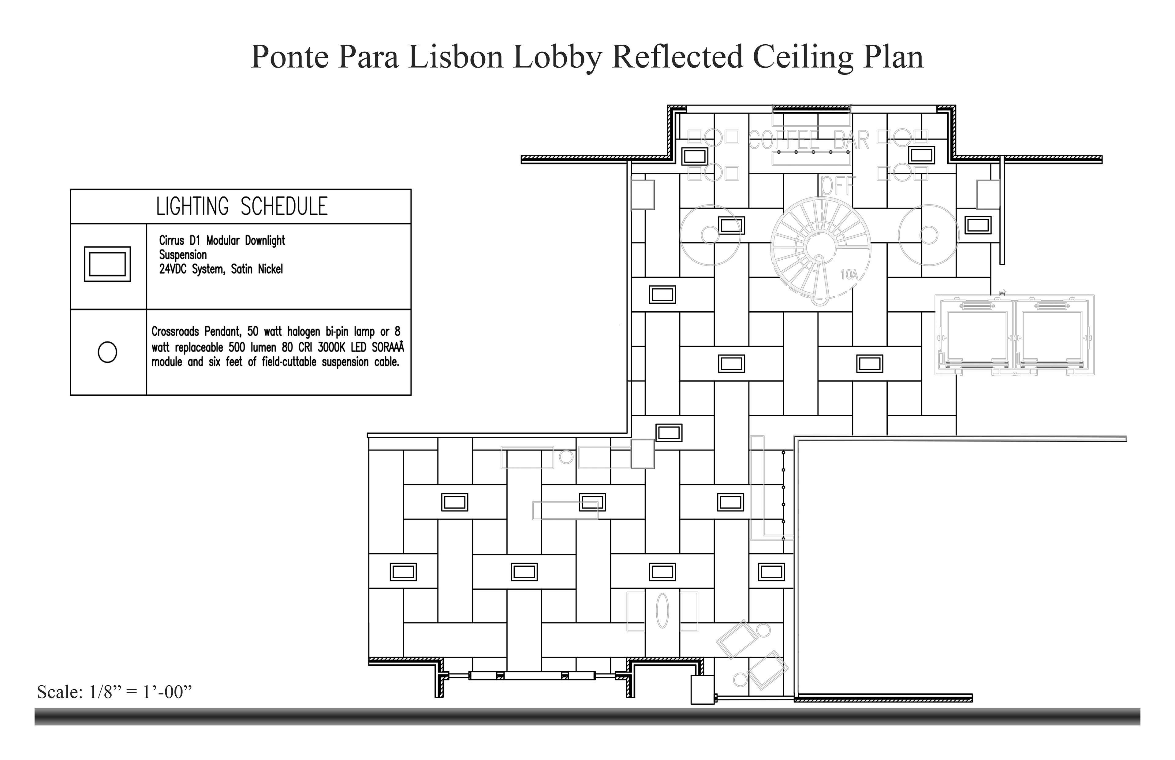 electrical plan vs reflected ceiling plan