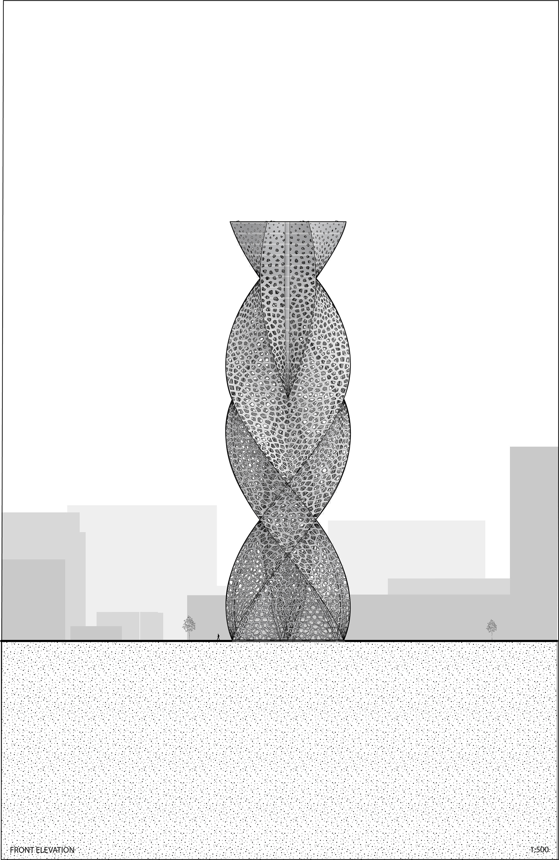 Zoona Aamir - DOUBLE HELIX TOWER