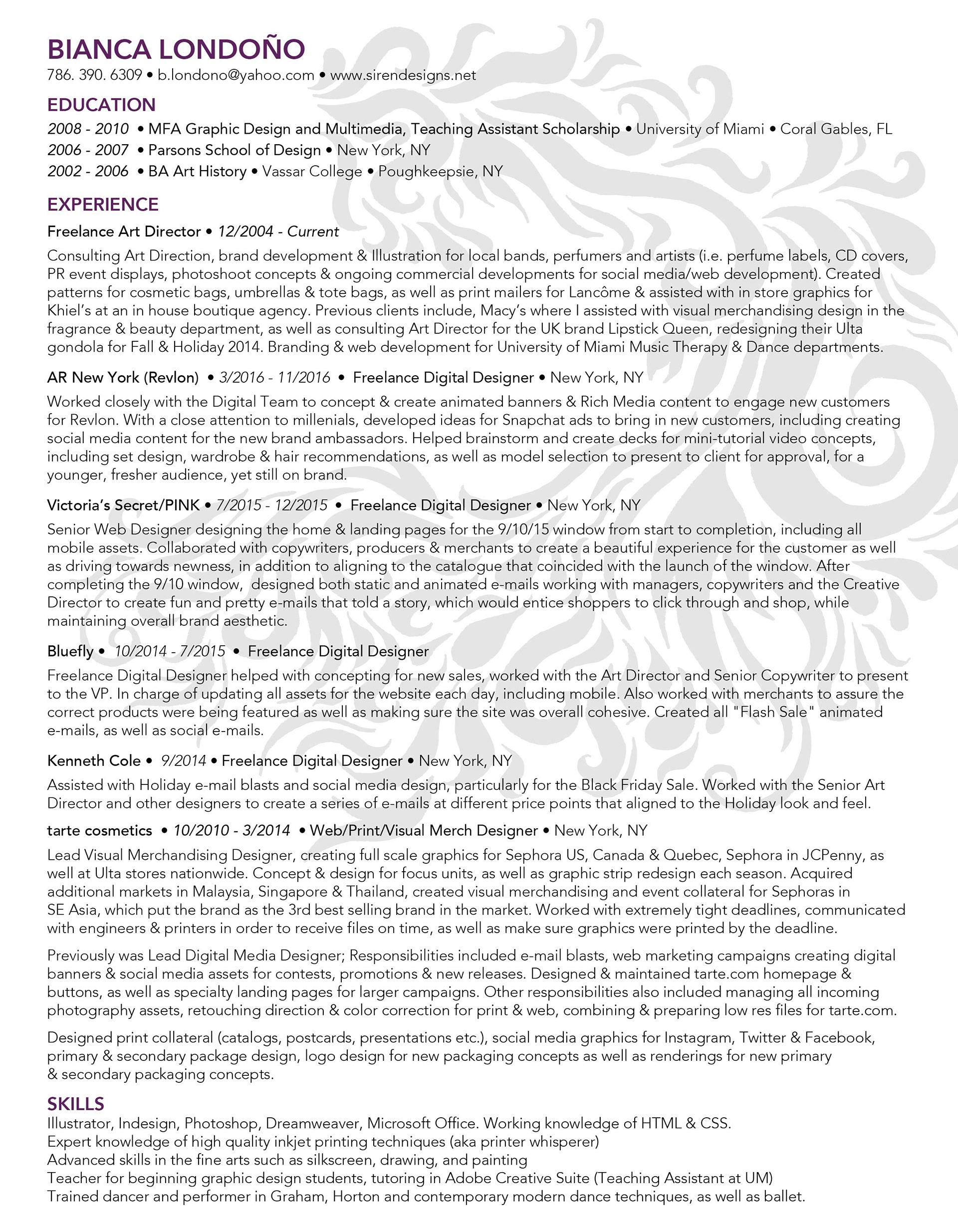 resume - Resume Printing