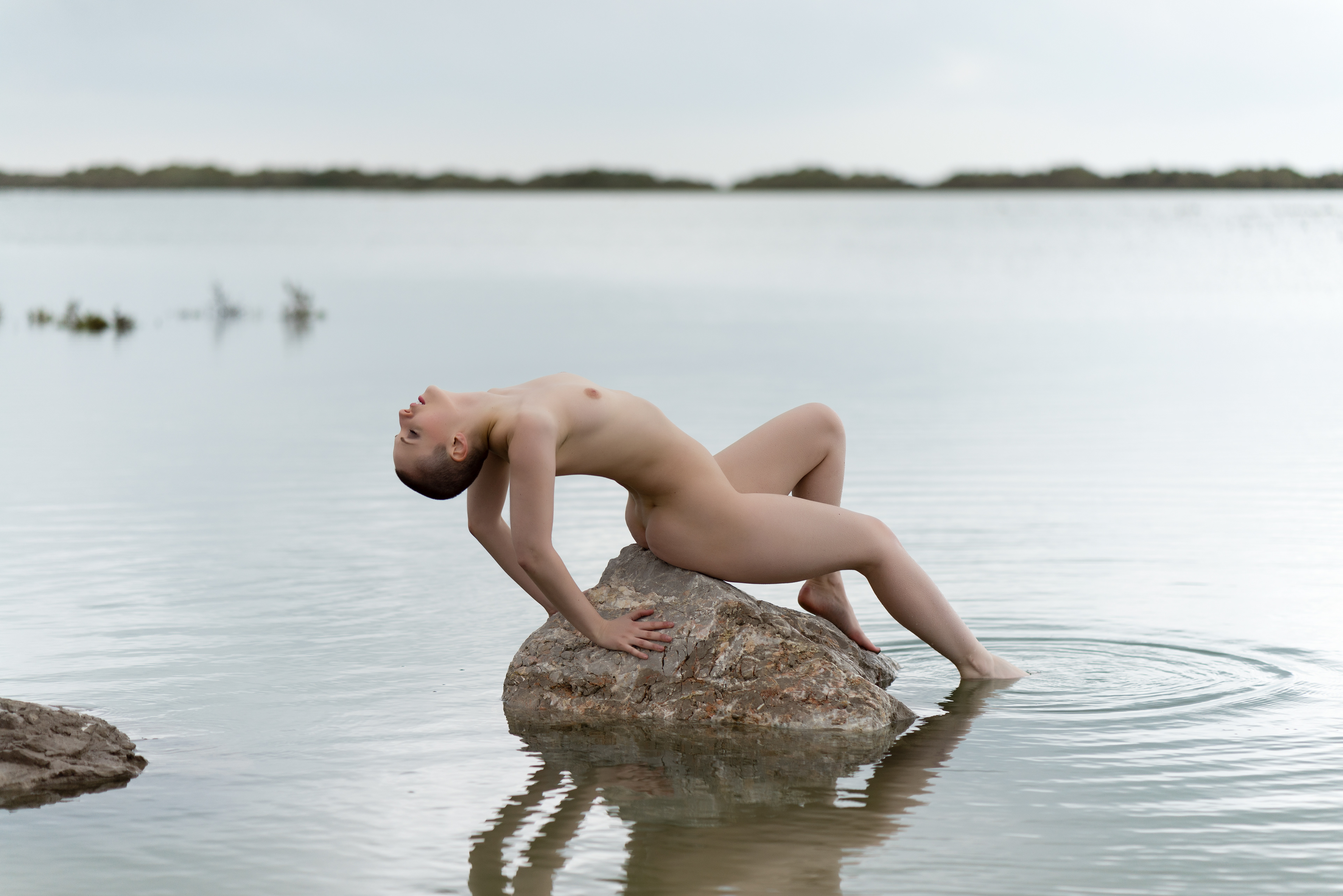 Nude on the water #5