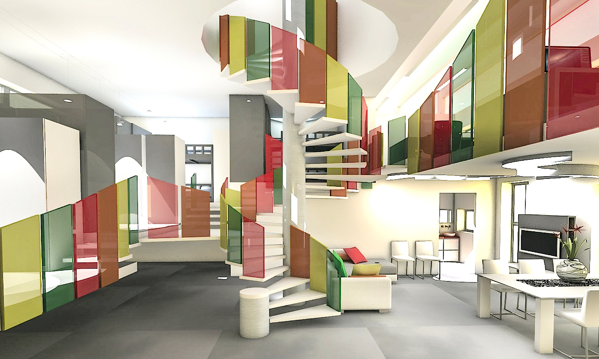 These Emotions Explode Inside And Expand Dominating The Whole Space Across An Emotional Spiral Which Arrange Our Interior Design Emotion Communication