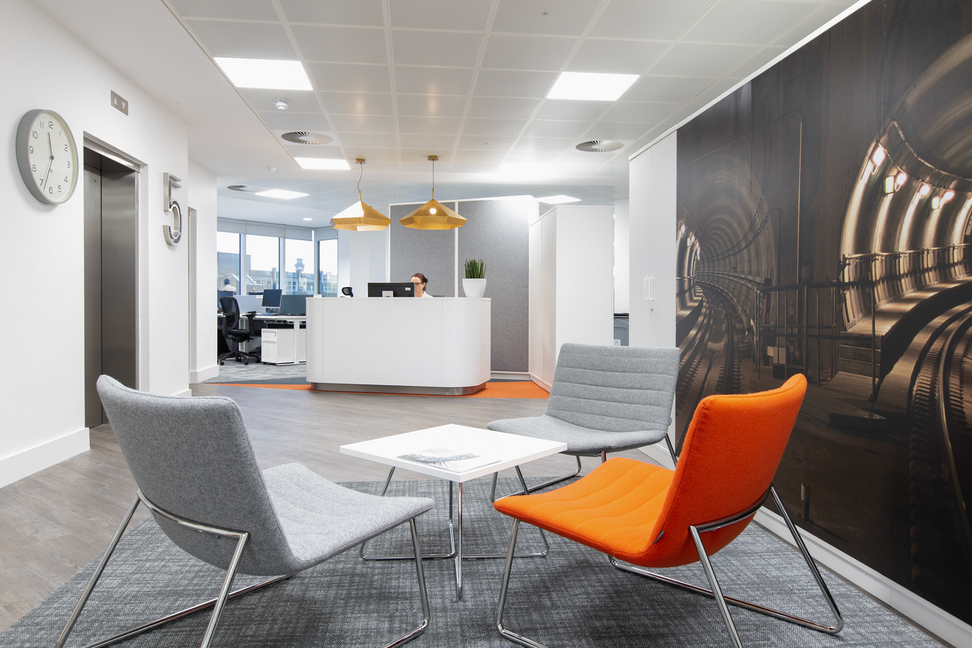 Contemporary Office Design In Glasgow Interior Photography For Oeg Interiors