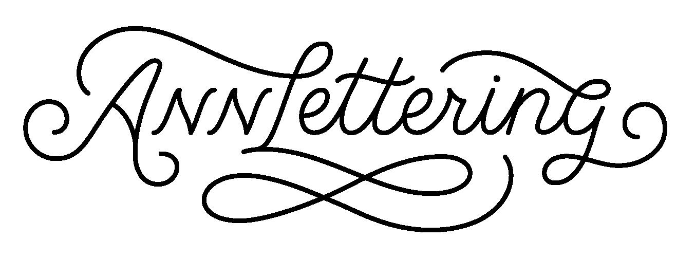Annlettering Logo