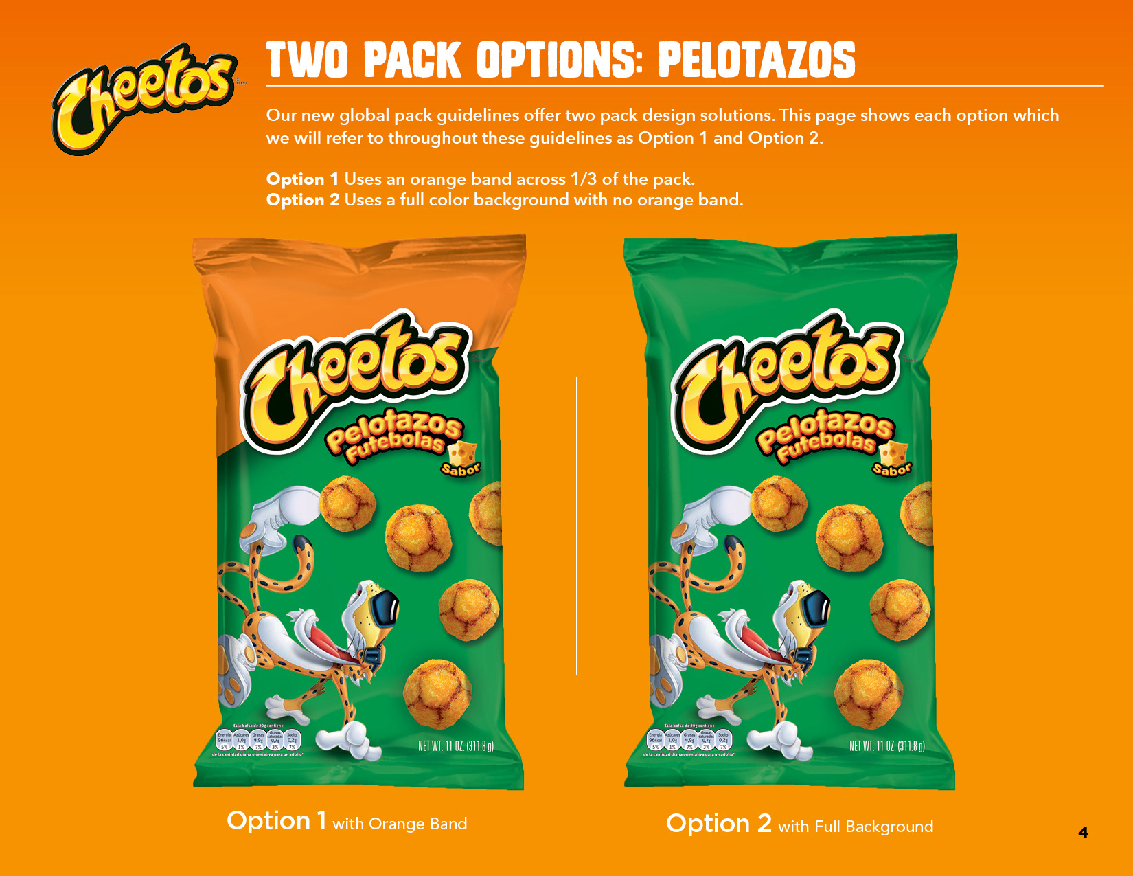 Amy Cartolano - Cheetos Style Guide: Design