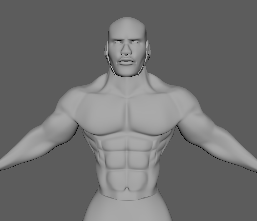 Ryan Sylvester - 3D Anatomy Study - Without Sculpting