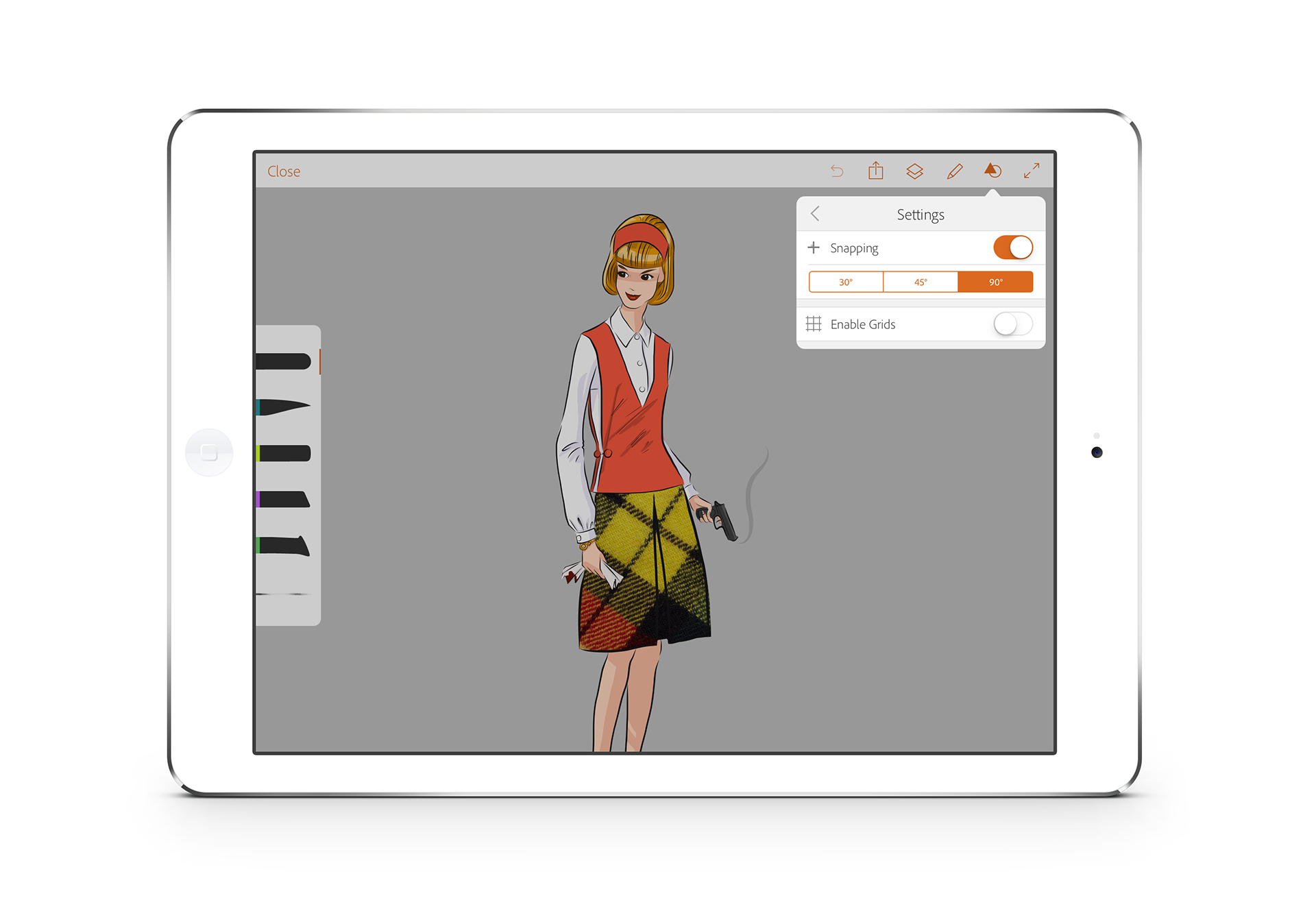 Campbellandia Adobe Illustrator Draw