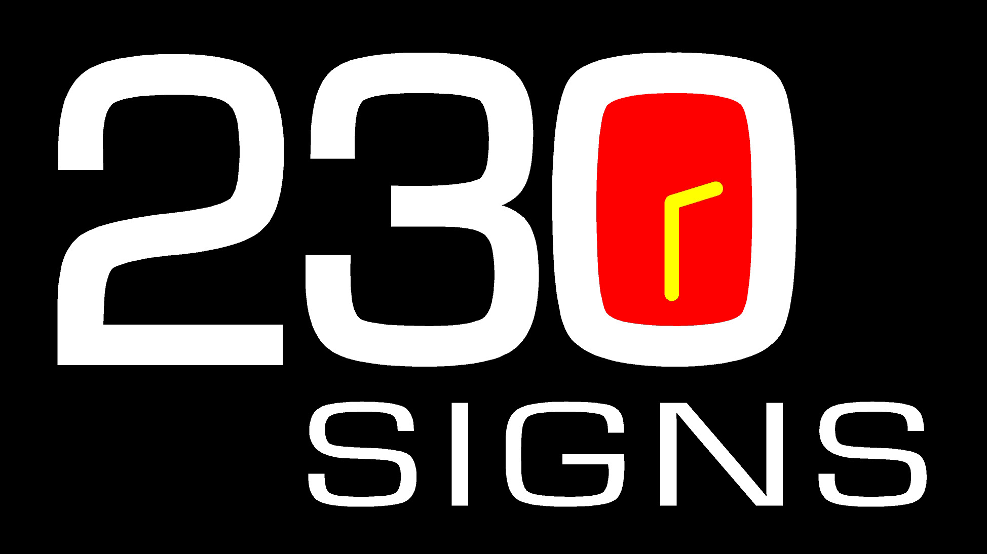 230 signs