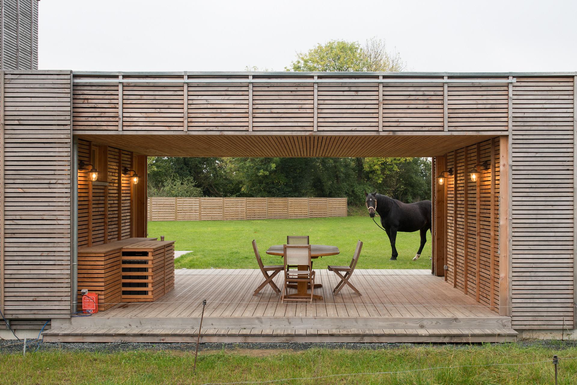 Architecte Cotes D Armor martin argyroglo photographe - maison à saint-agathon