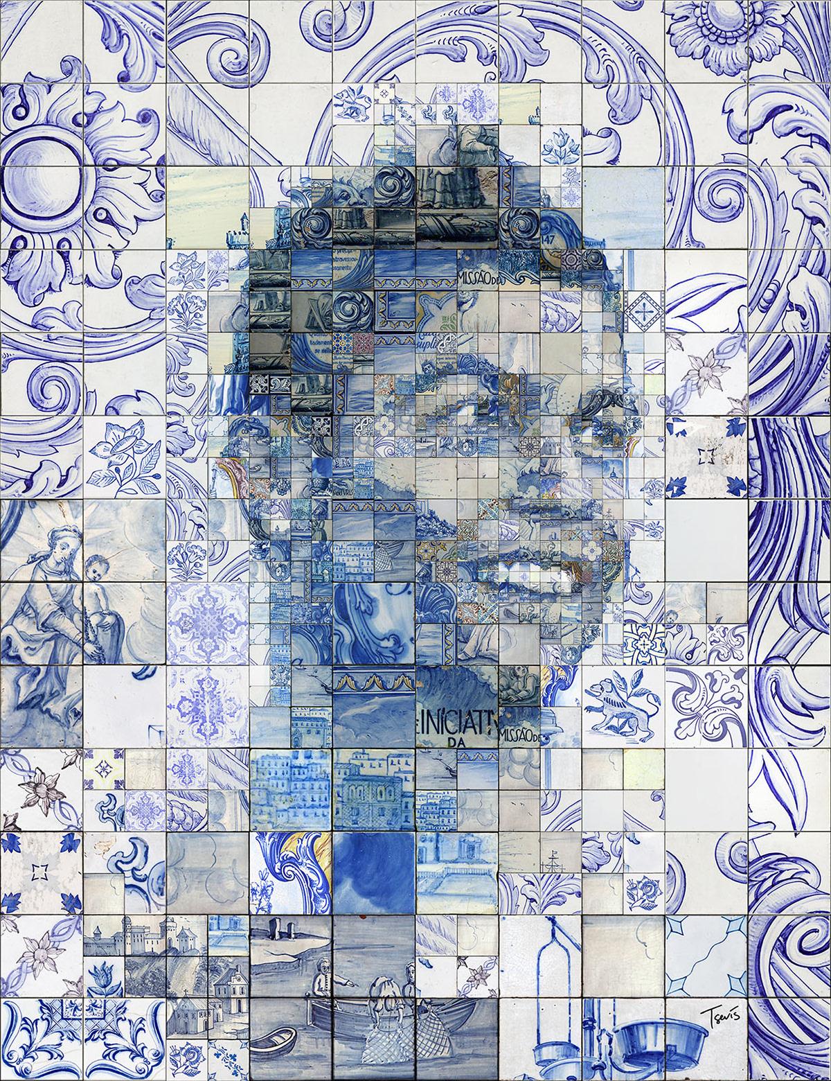 Charis tsevis cristiano ronaldo o orgulho de portugal Carrelage portugais