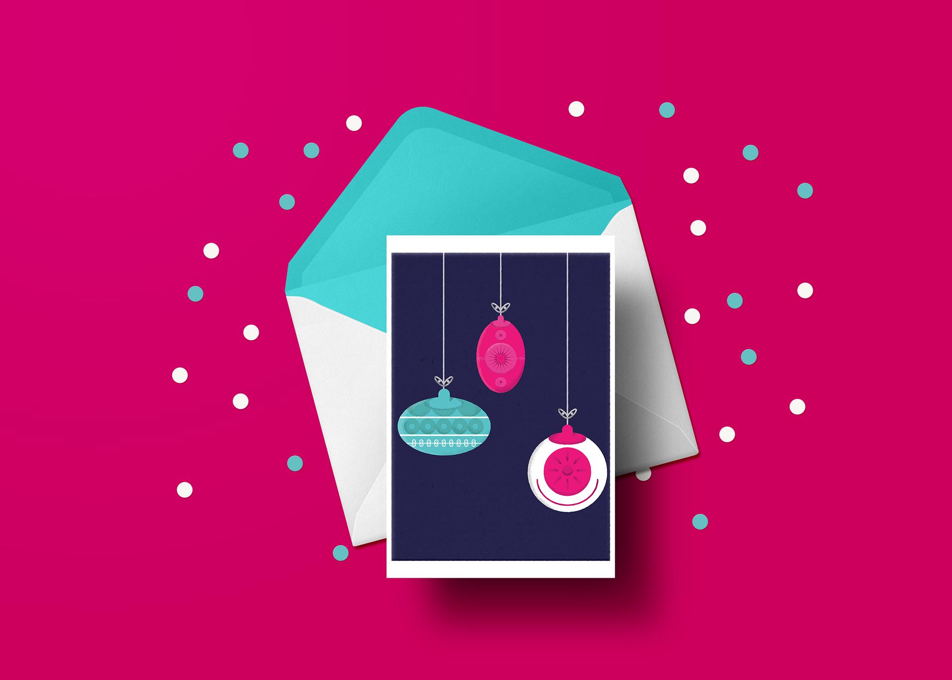 Natasha Smith Coppafeel Christmas Cards
