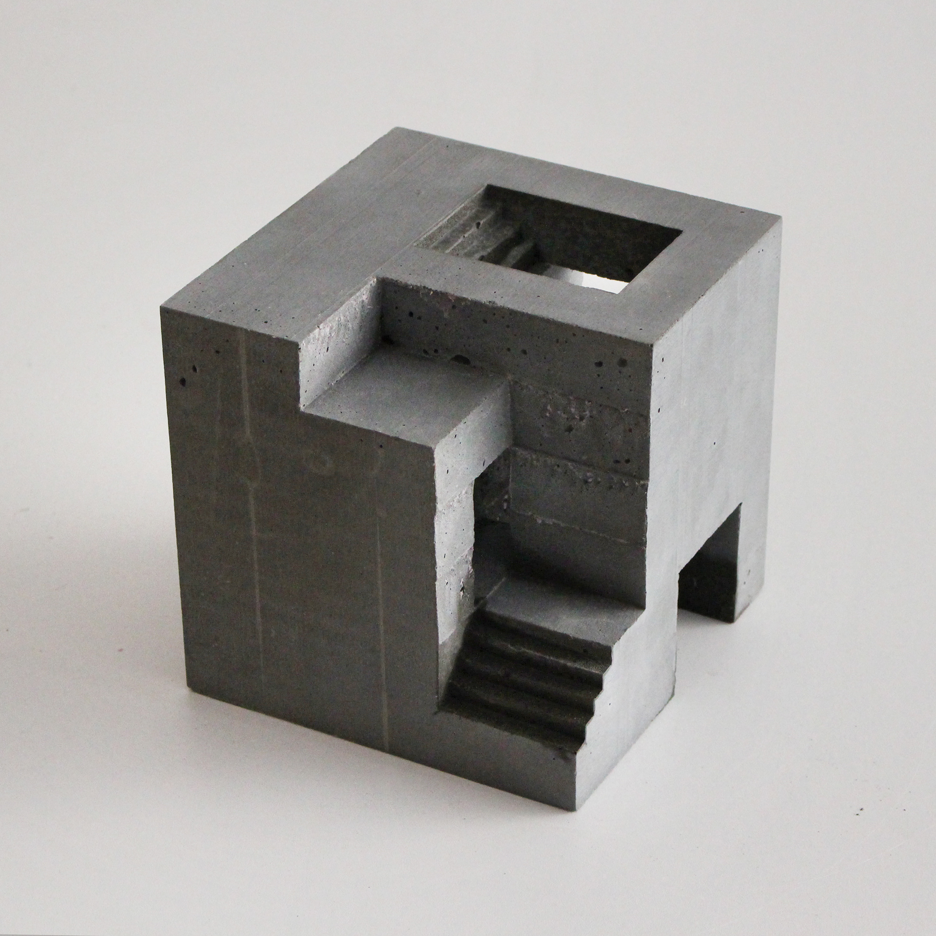 David Umemoto's concrete sculptures