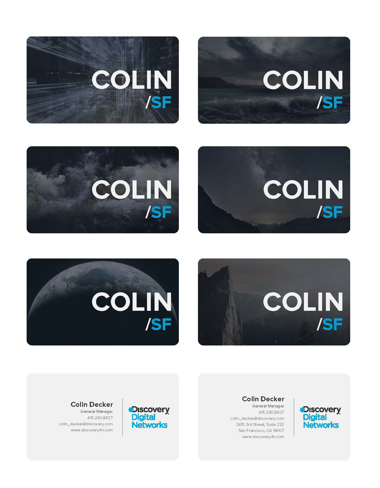 Oleksander stecyk discovery digital networks business card redesign redesignupdate of the business cards for discovery digital networks colourmoves
