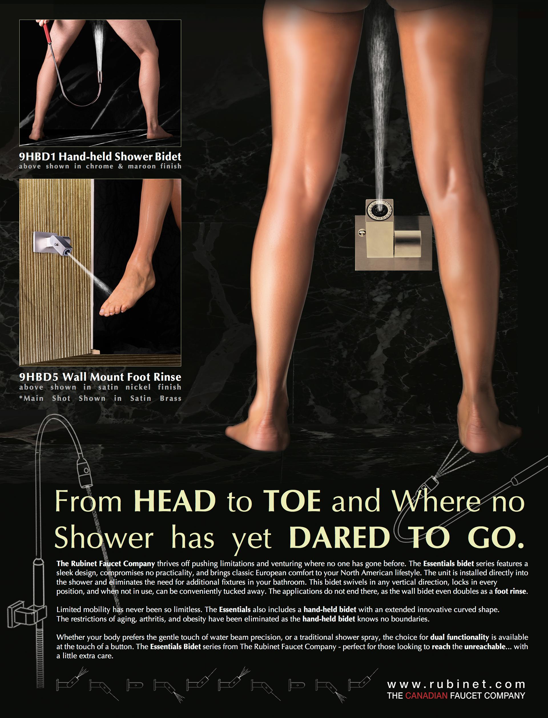 Maddy Turk - Essentials Wall Bidet Ad