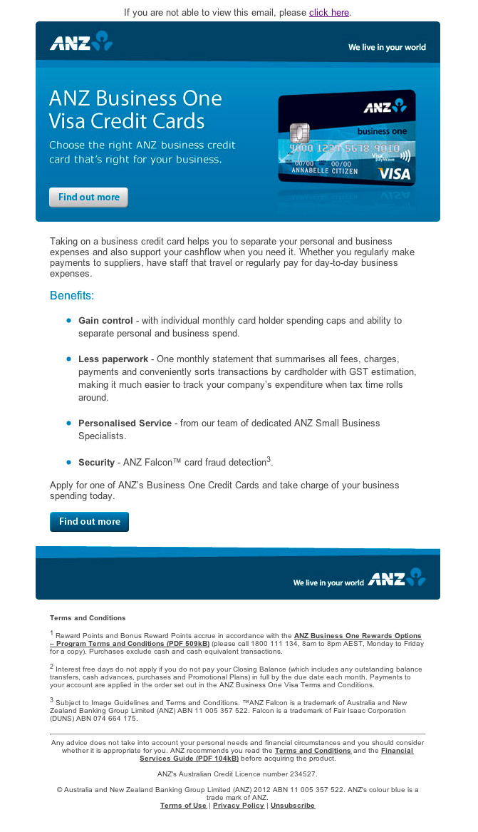 Martyn Miller - ANZ Business Credit Cards
