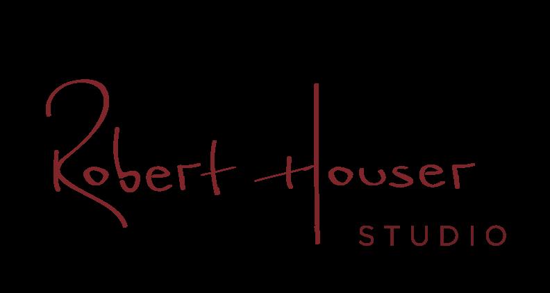 Robert Houser studio - wood sculpture
