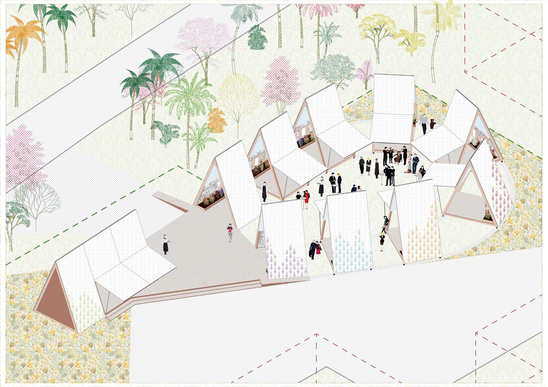 MAYU architects - Holland pavilion, 2018 Taichung Flora Expo