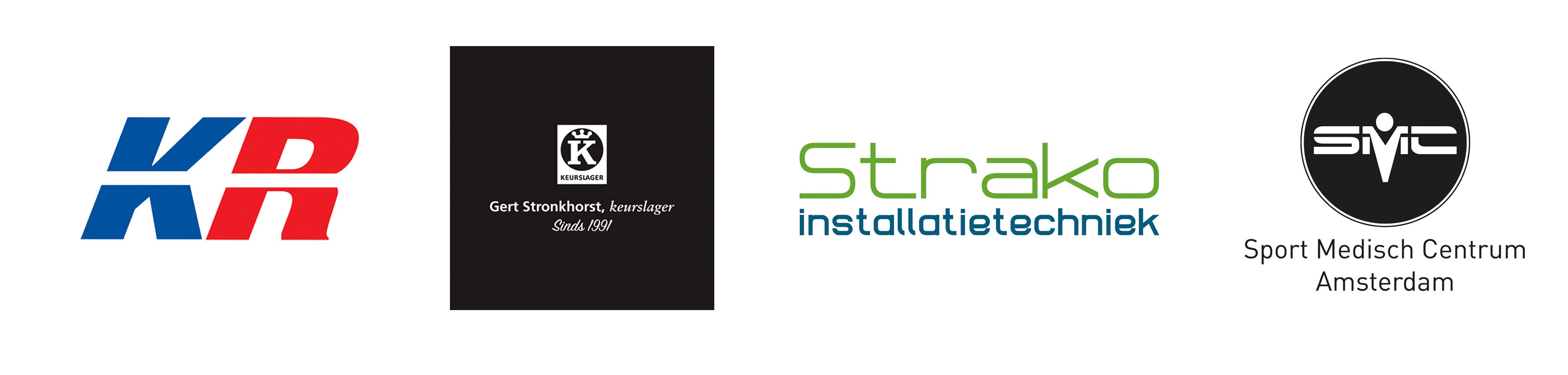 Logo SMC & Koopman Racing & Gert Stronthorst & HofHoorneman & Strako