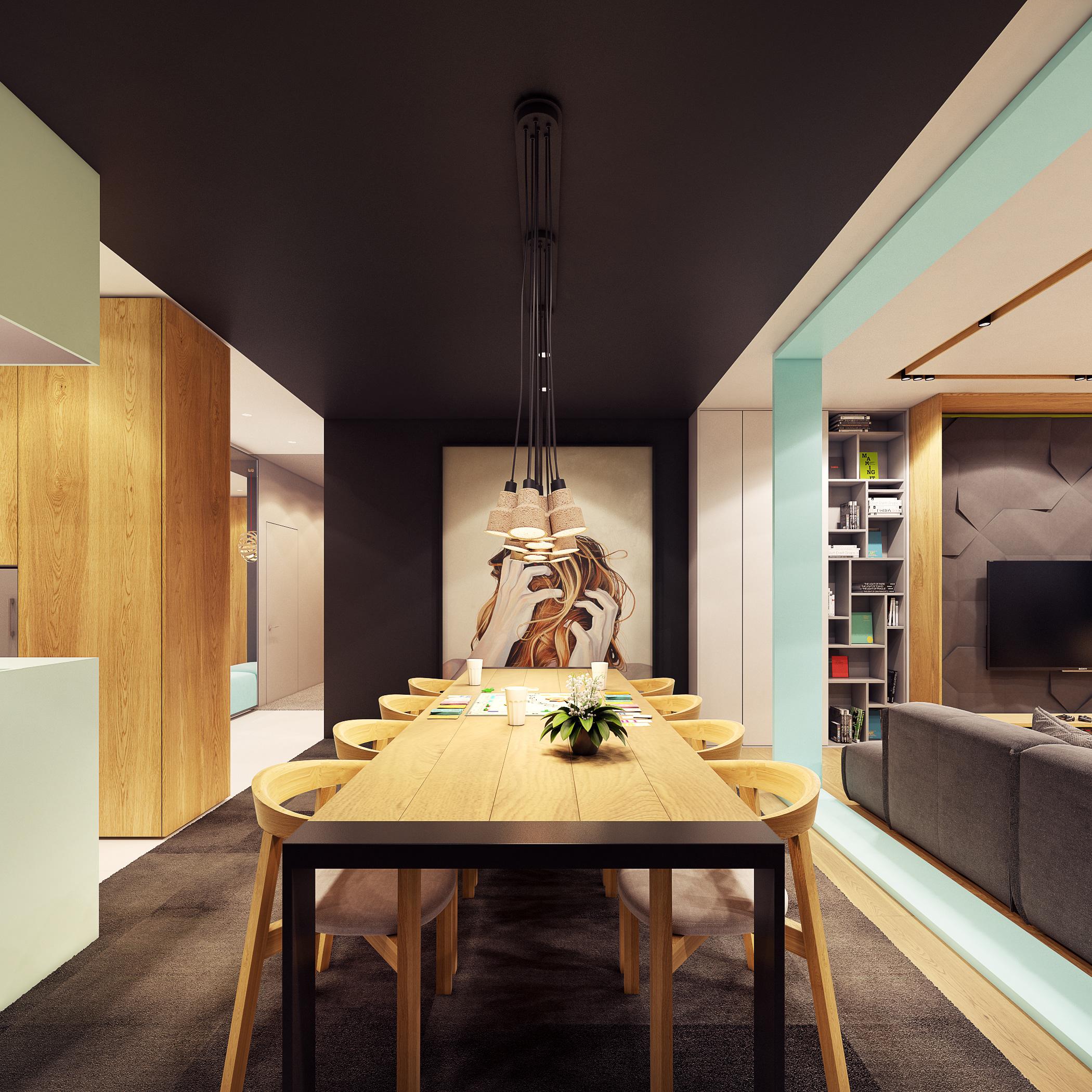 Zarysy jan seku a pracownia architektury wn trz i designu for Wohnzimmer 4 x 8