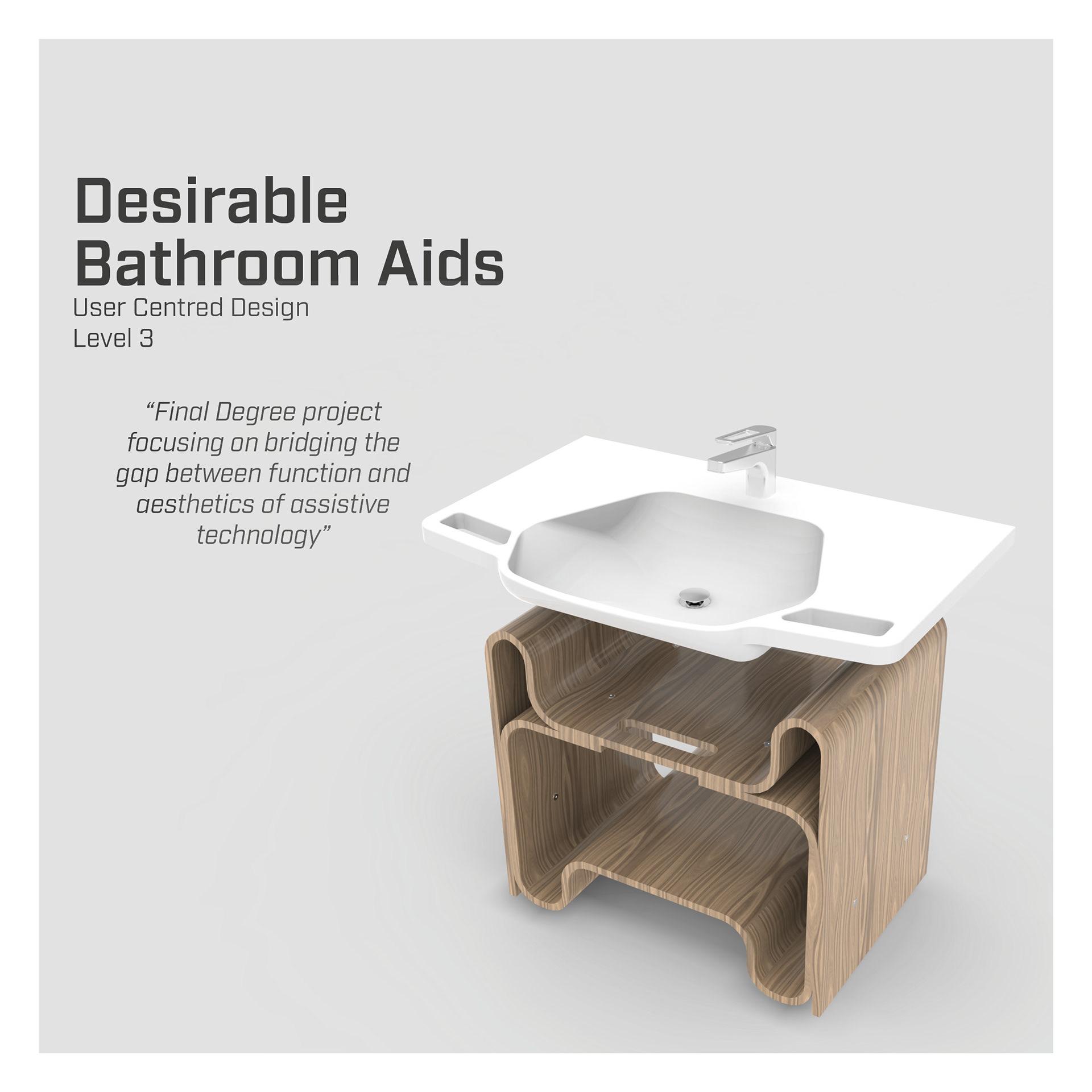 Hannah Gribble - Desirable Bathroom Aids