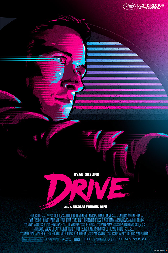 Signalnoise the work of james white drive movie poster drive movie poster stopboris Gallery