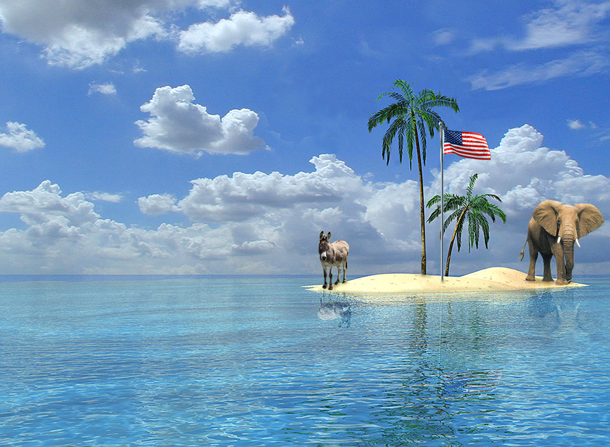 Картинки остров анимации, мужчина женщина