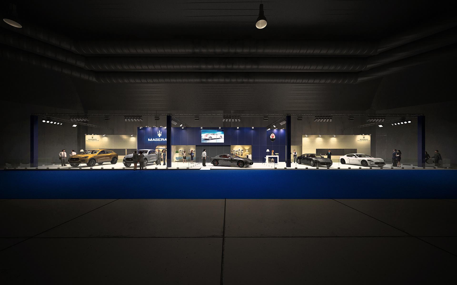 3d lab visualisaties interieur premium exhibitors for Architecture interieur bruxelles