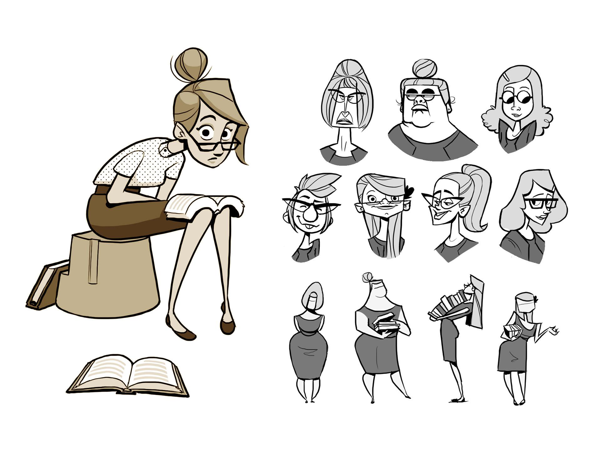 jonathan sundy character design collection