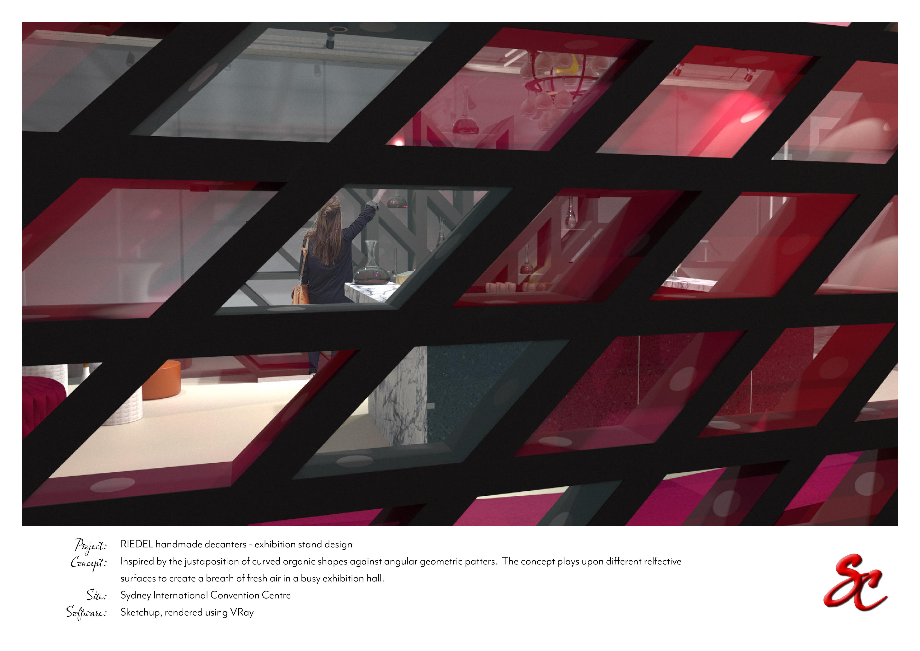 Sue Chen Portfolio - Expo Stand Design