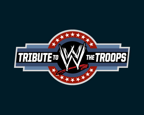 Michael Delaporte - Tribute to the Troops logos