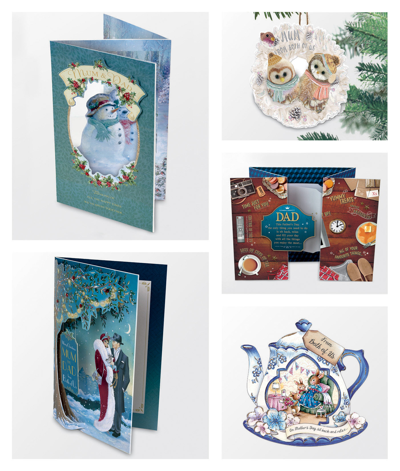 Melissa price artworking cards with die cuts lazor cuts decorative finishes such as foil and glitter uk greetings ltd own the copyright to all the below card designs m4hsunfo Image collections