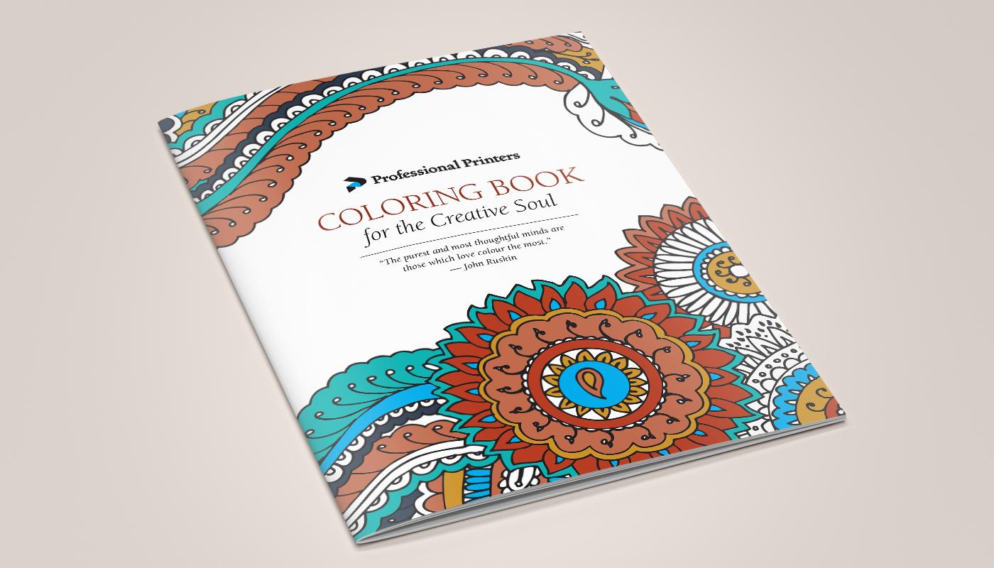 GABRIELLE GARNER - Professional Printers Coloring Book