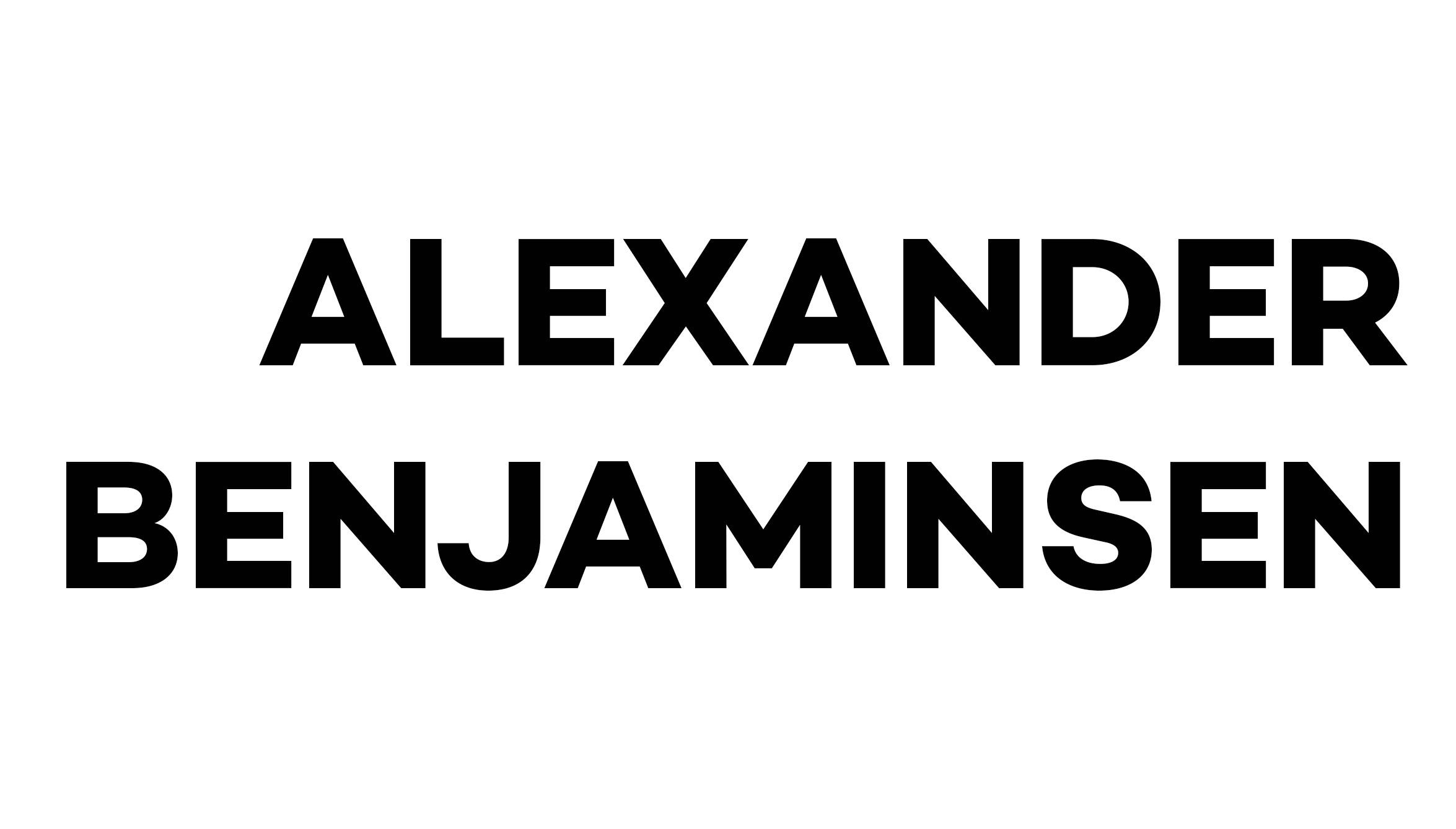 alexander benjaminsen