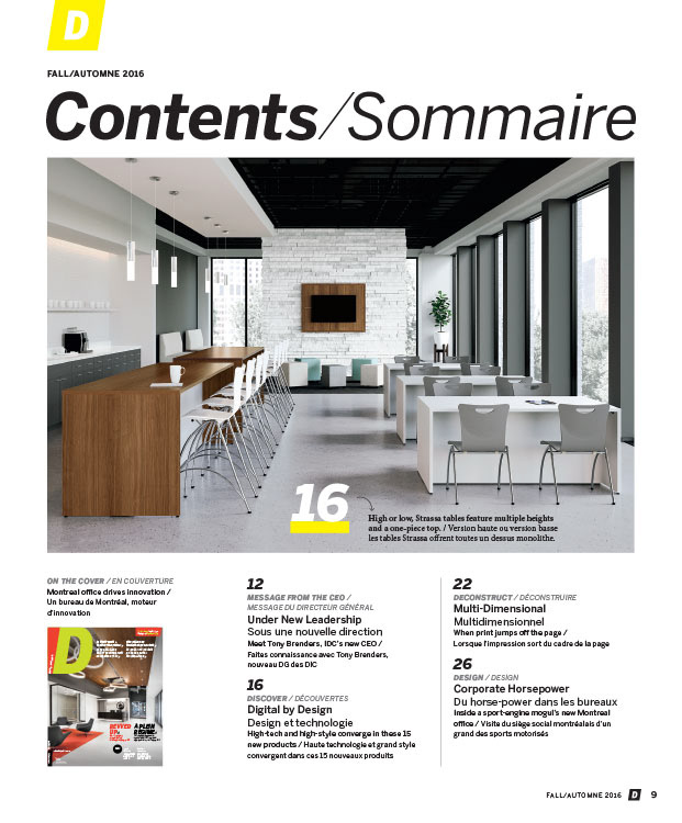 Original Design And Layout Of The Official Bilingual Magazine For Interior Designers Canada IDC National Advocacy Association