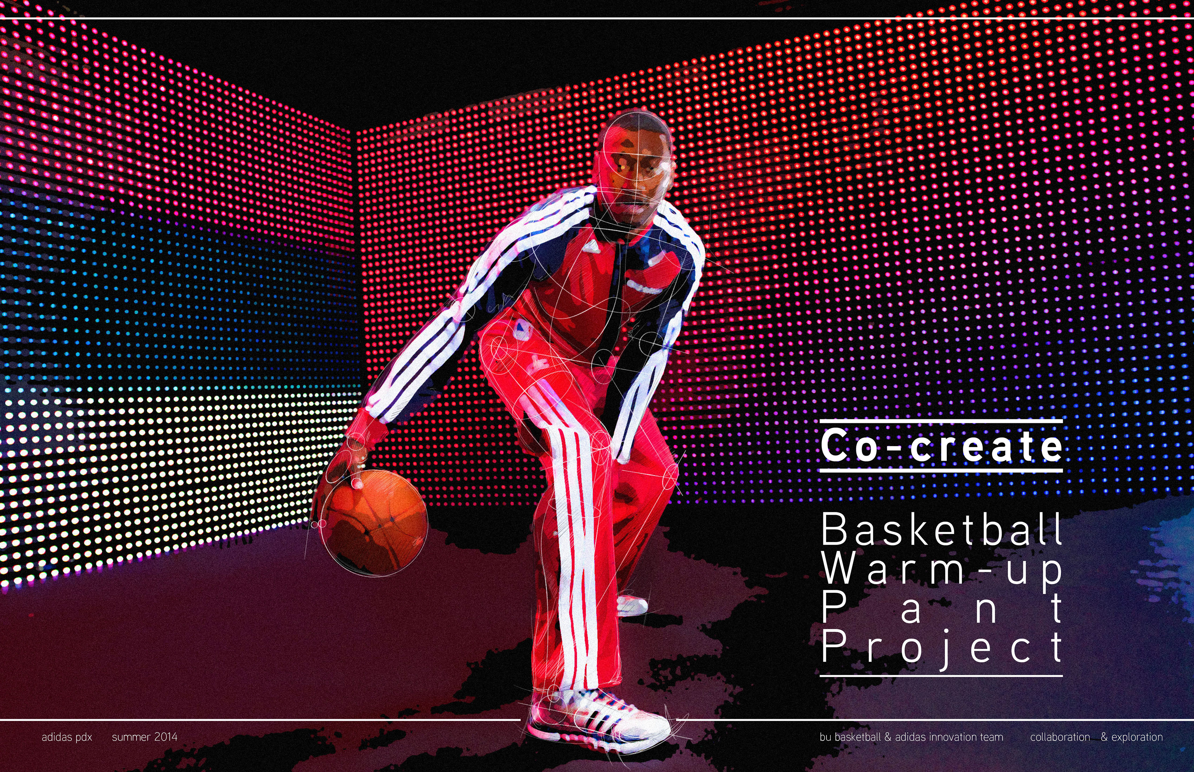 0b5a5b62a093 collaboration with the adidas basketball business unit around improving the  range of motion offered by their NBA warm-ups