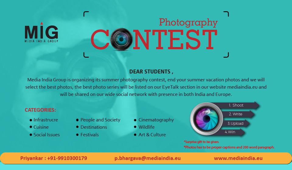 Gourav Lakhanpal Photography Contest Poster
