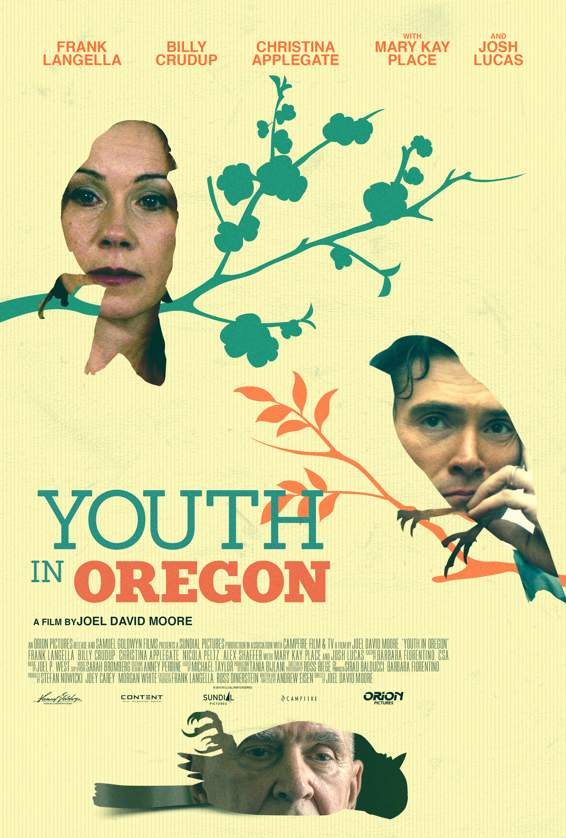 Poster design for youth - Youth In Oregon Theatrical Key Art Design