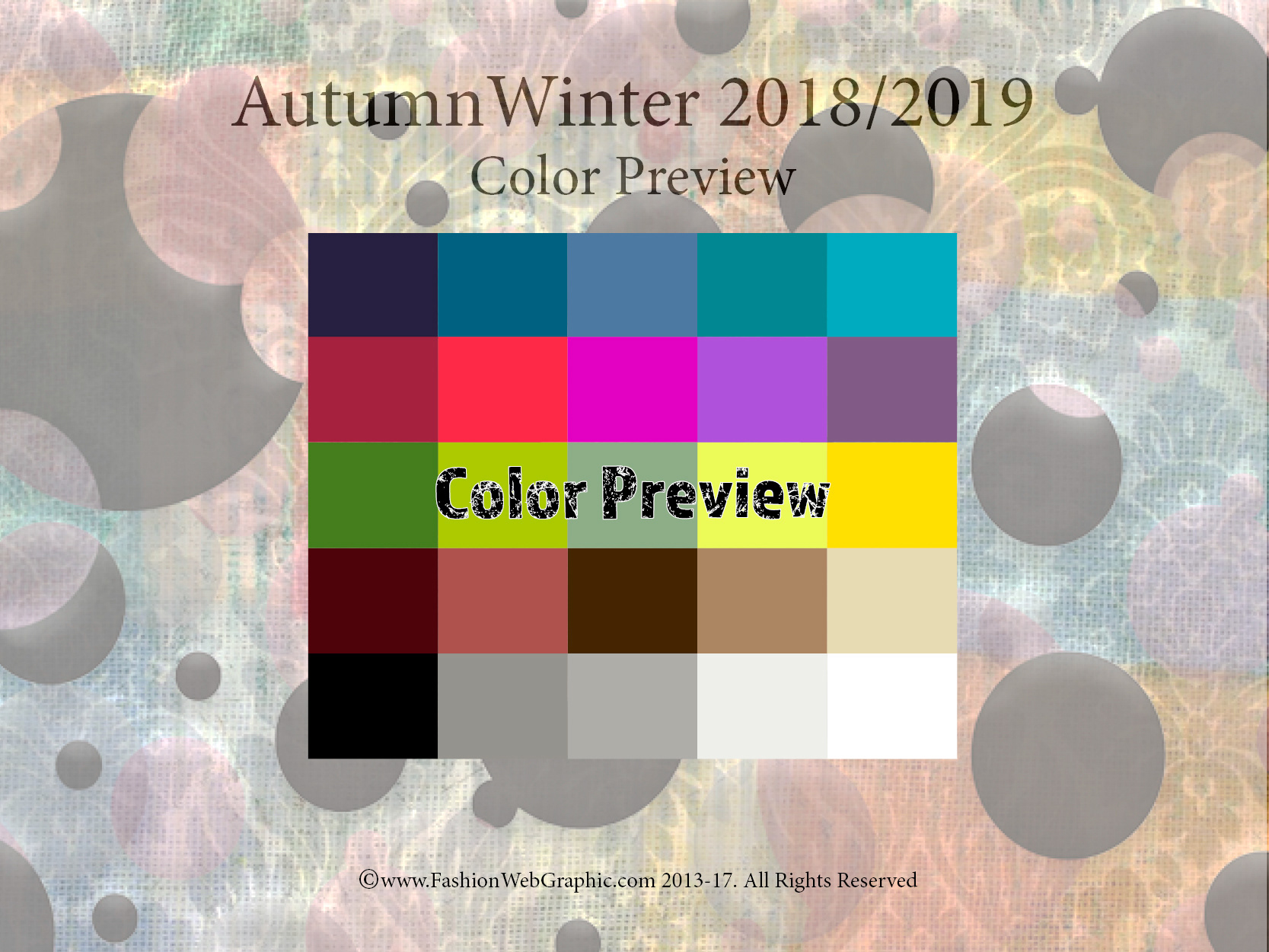 Colours For Autumn  Fashion