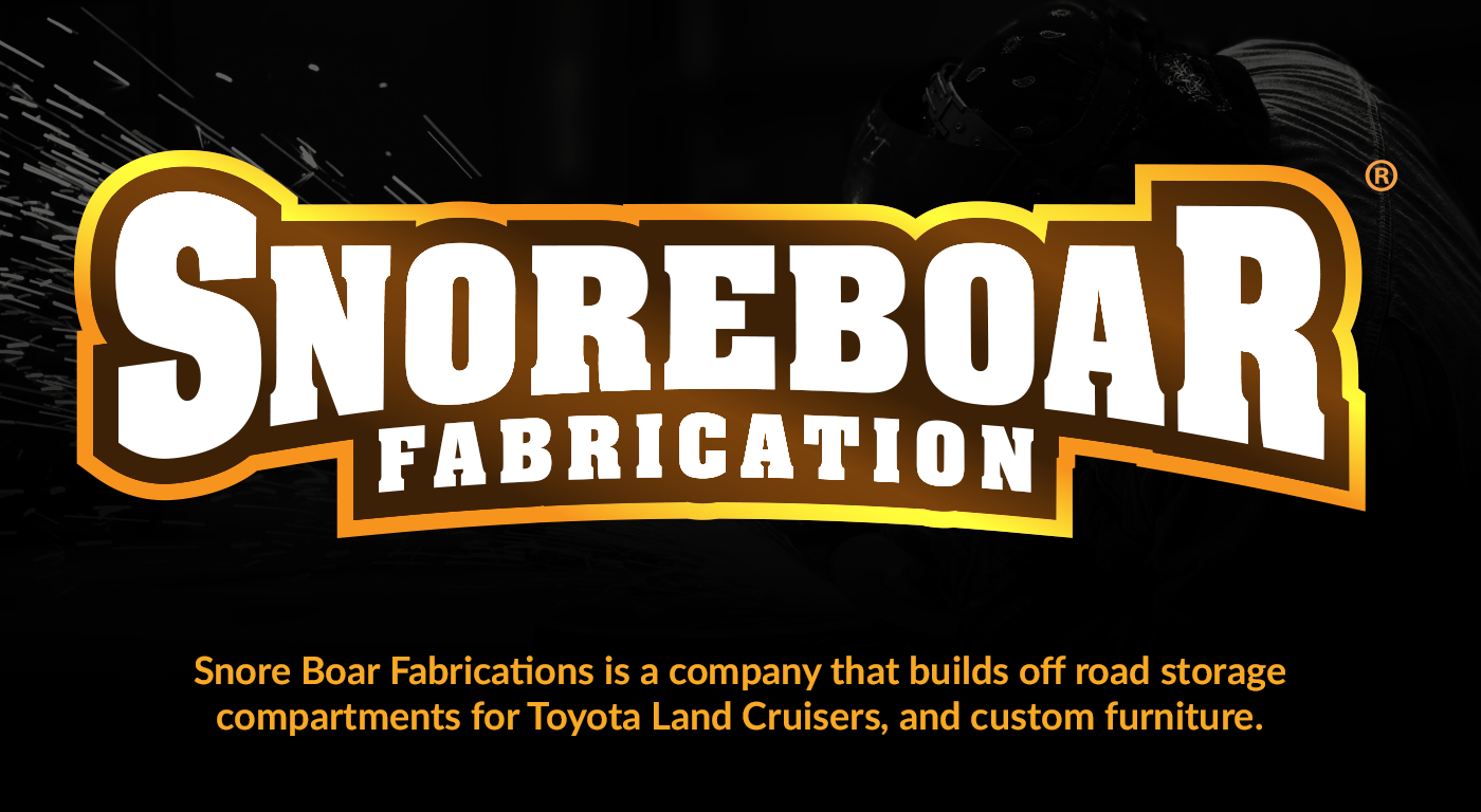 Johnny Tyler Snoreboar Fabrication Logo Design Toyota Land Cruiser