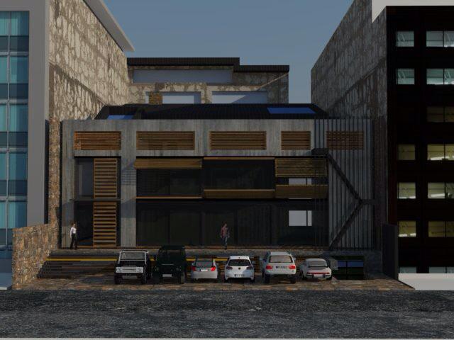 Barış Aral Architects - Dynamo Textile headquarters in Çobançeşme