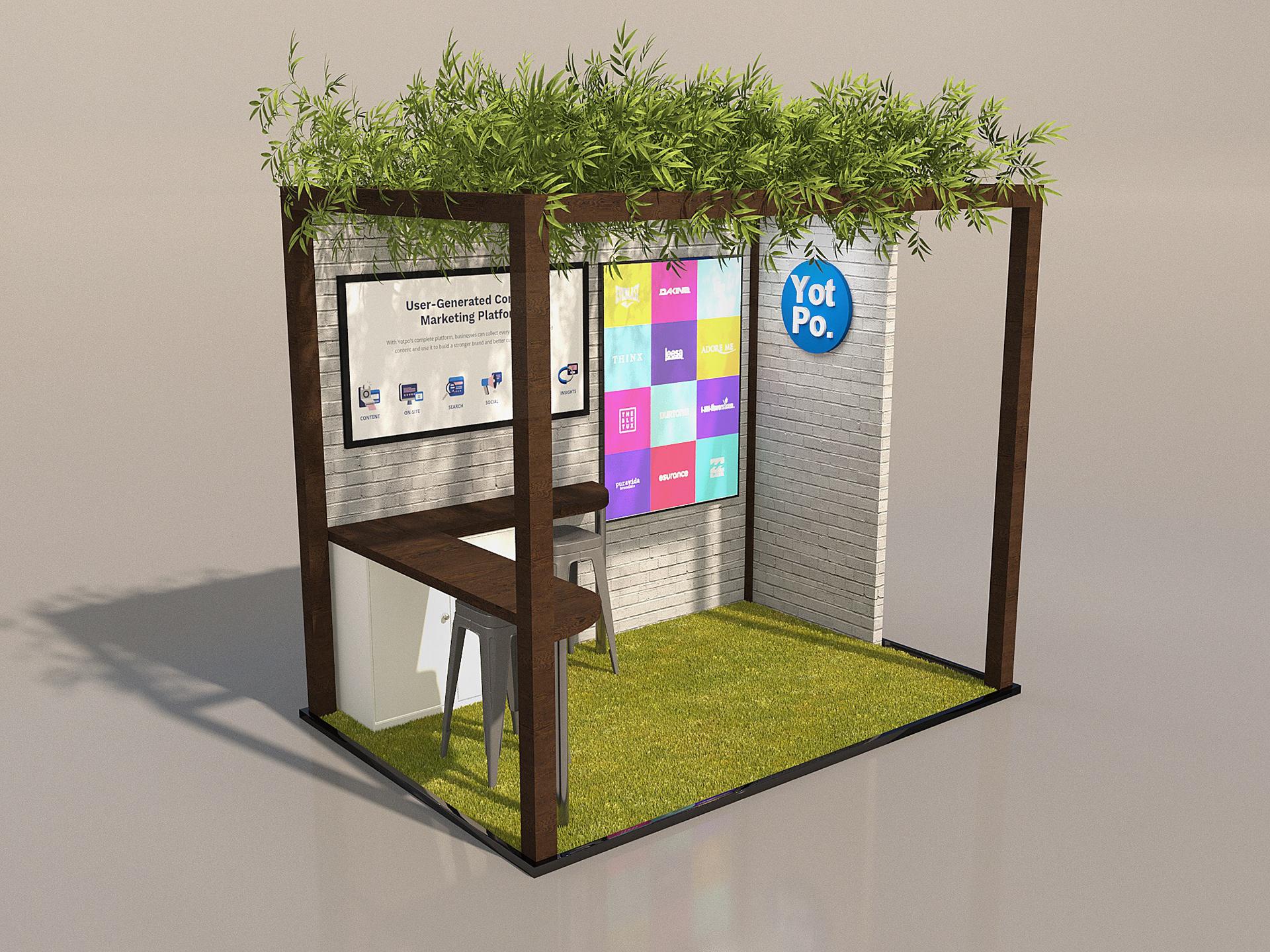 Exhibition Stand Visualisation : Sean griffin exhibition stand visualisation