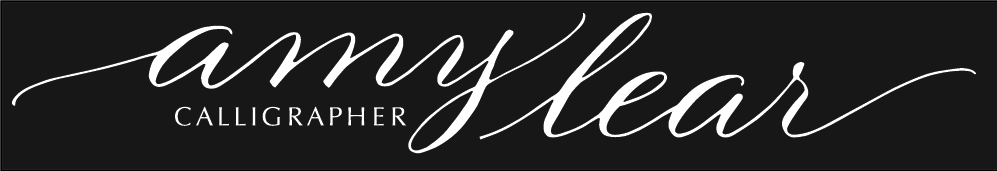 Amy Lear, Calligraphy Artist