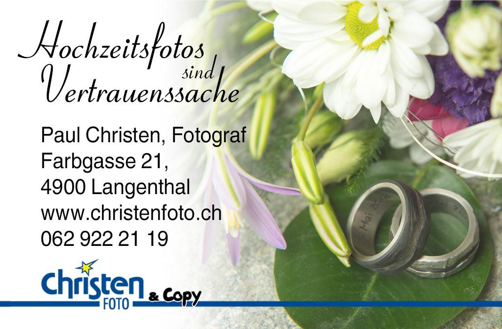 Christen Foto Visitenkarte