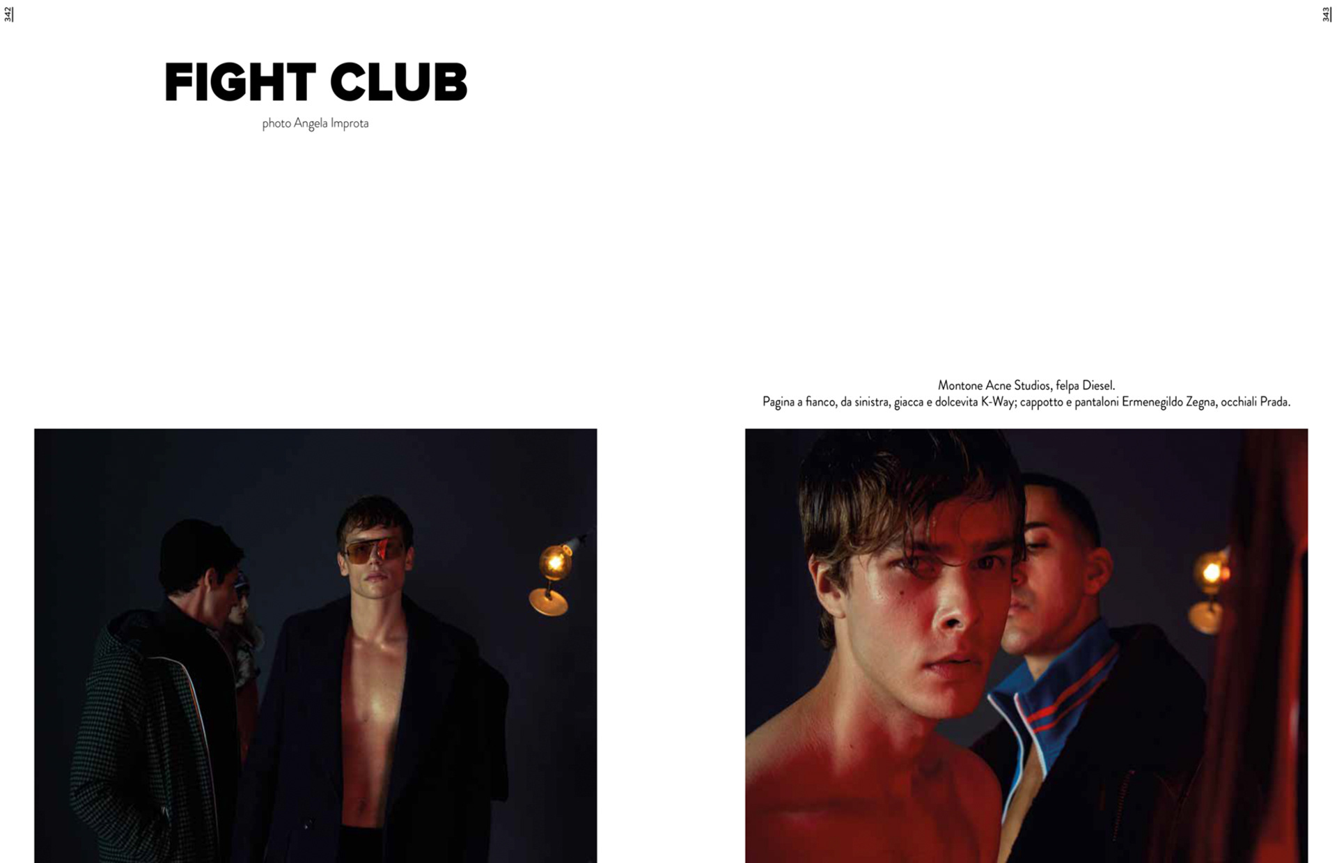 in vendita all'ingrosso sito web per lo sconto shopping Askani Retouching - Fight Club The Collector Issue 1