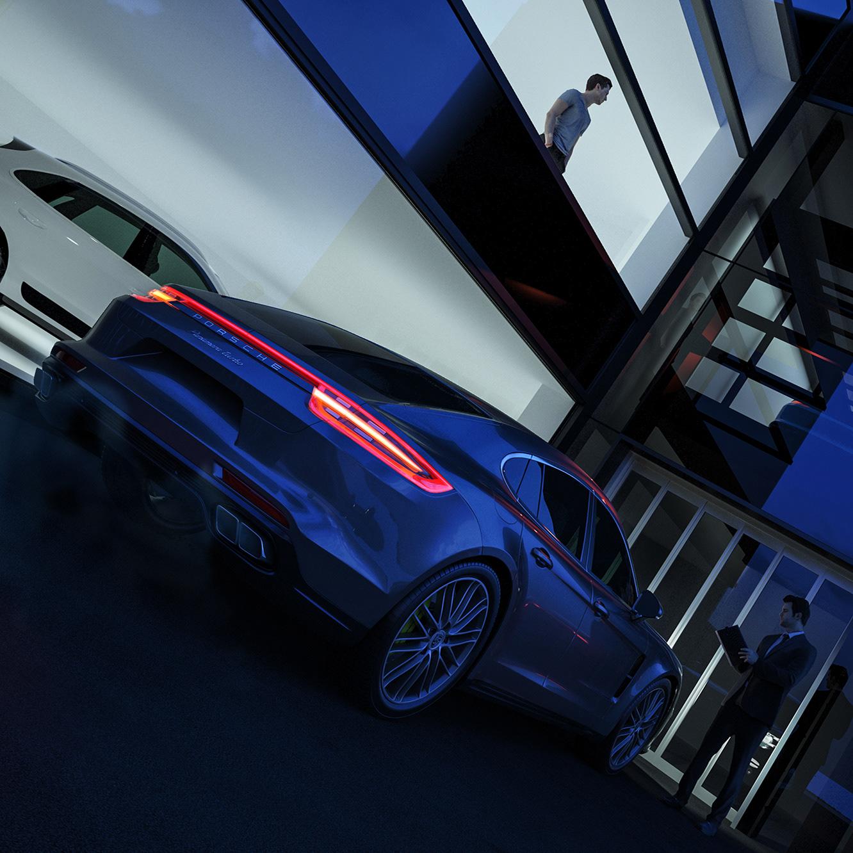 Eagle I Visuals Porsche Towcester