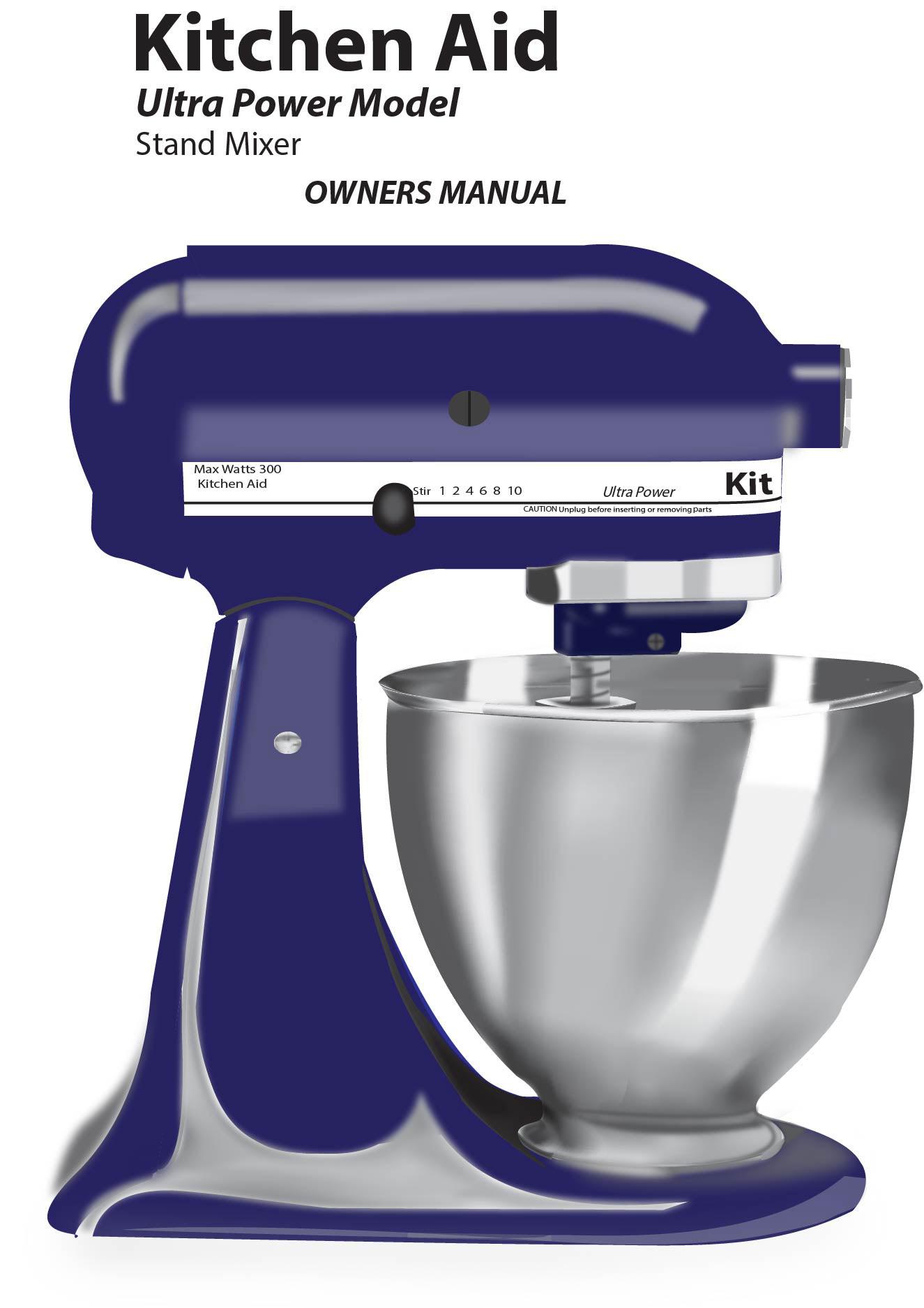 kitchen aid repair manual
