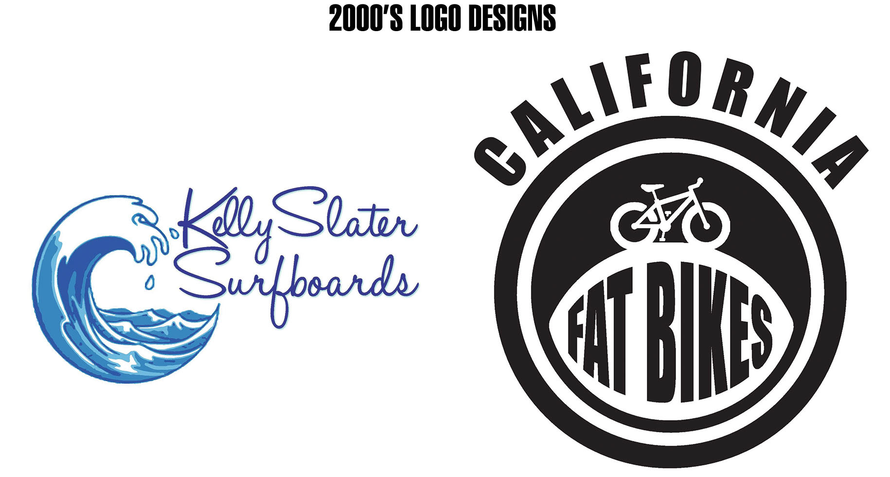 The Assignment Was To Take 2 Fake Companies And Design Logos Based Off Of Designs From 50s 70s 2000s I Chose Kelly Slater Surfboards
