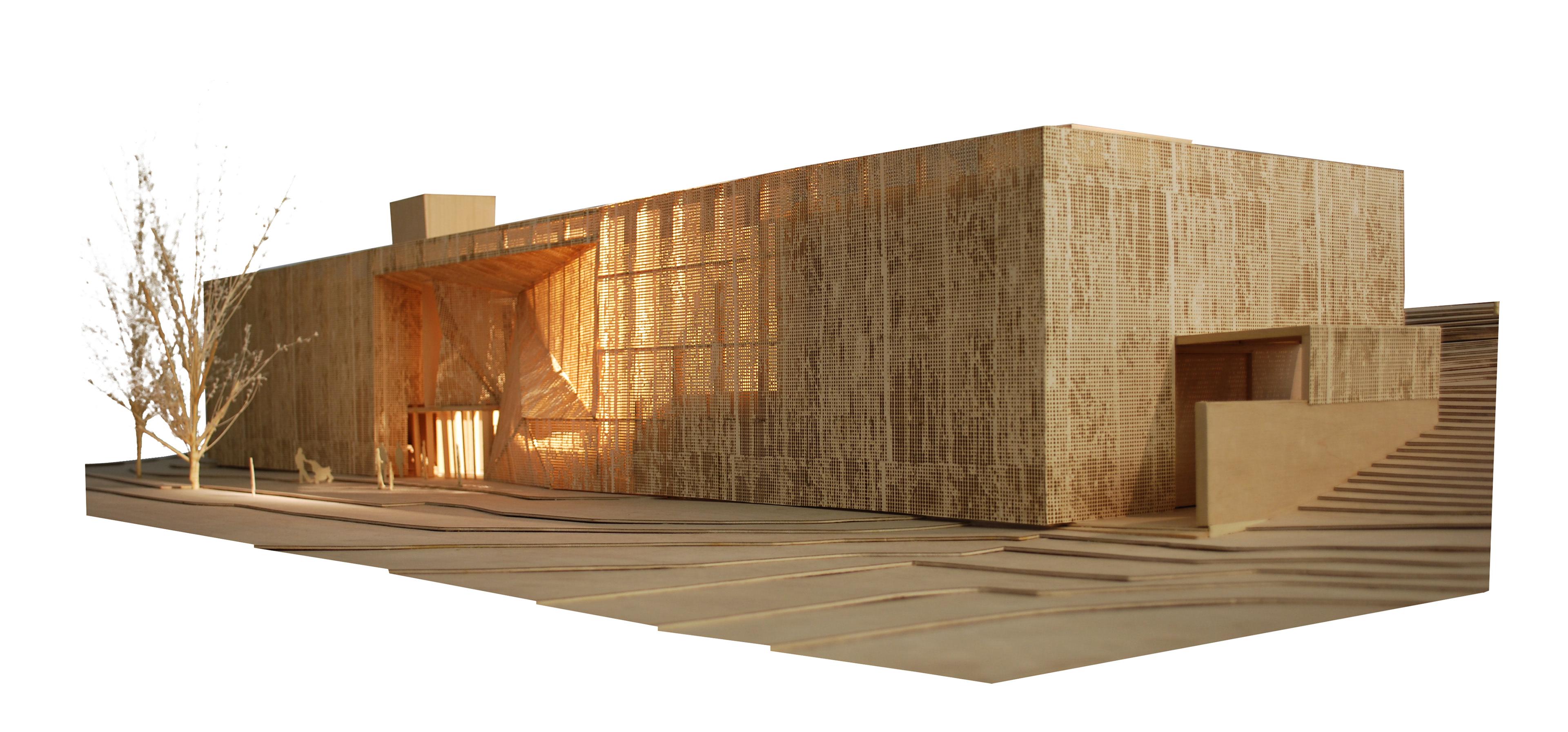 Brooks + Scarpa - Aaronson Fine Arts Center at Laumeier Sculpture Park