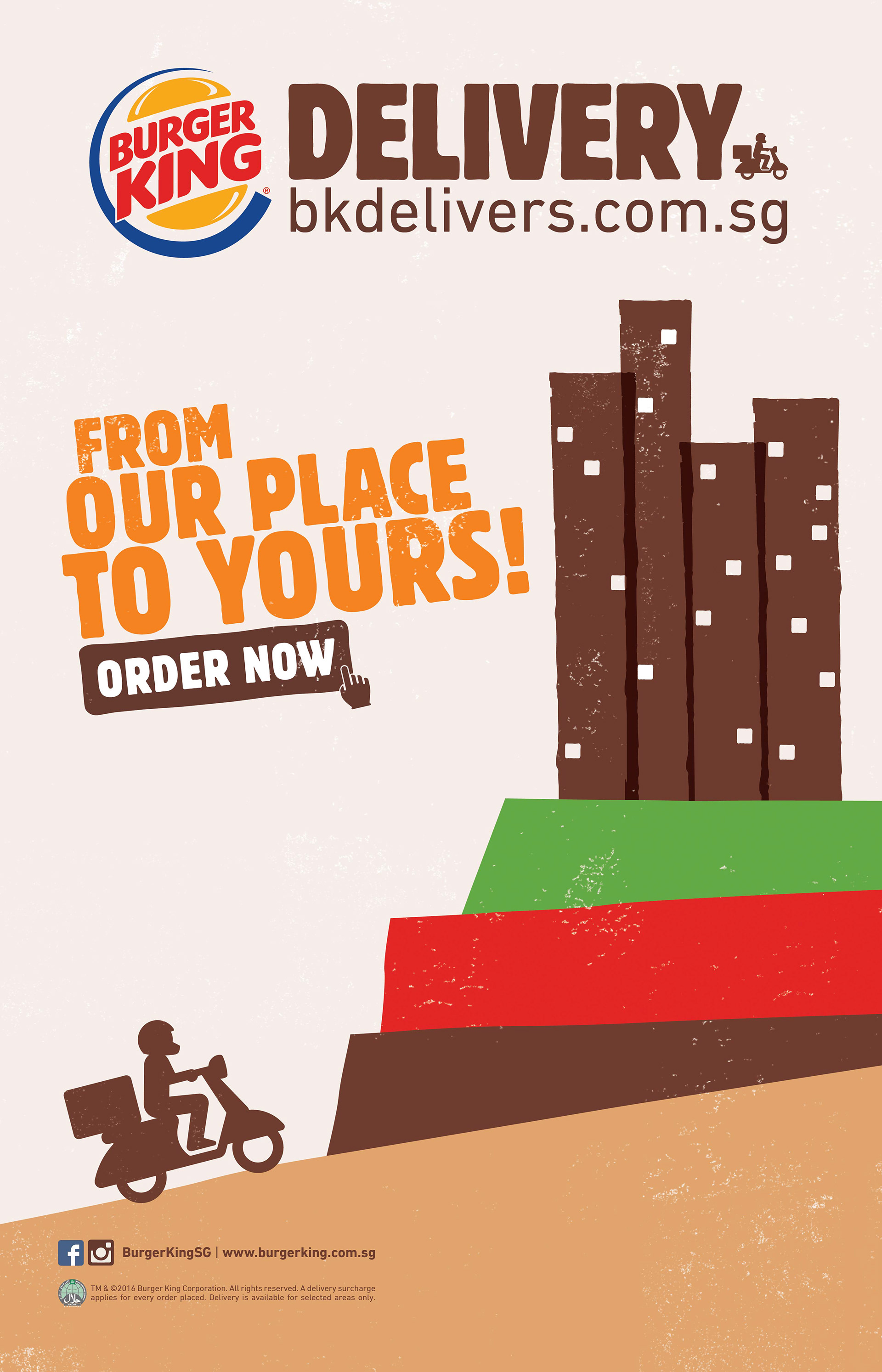 melvin poon - Burger King – Home Delivery | Campaign