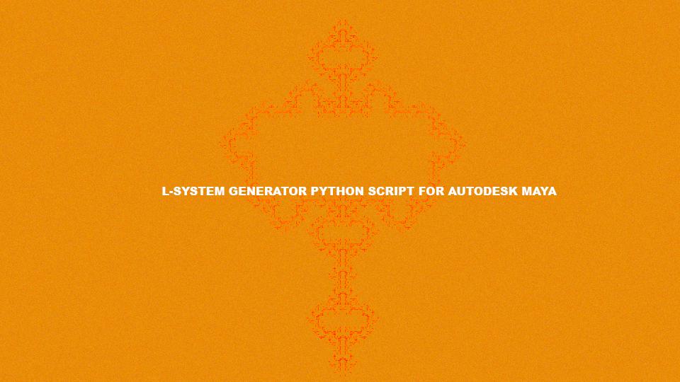 Laith Safa - Maya L-system python script