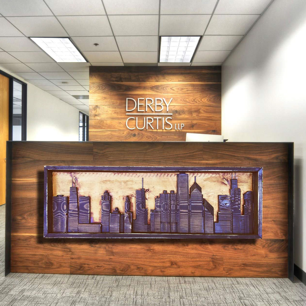 Chris Knight Chicago Skyline 3d Wood Carving